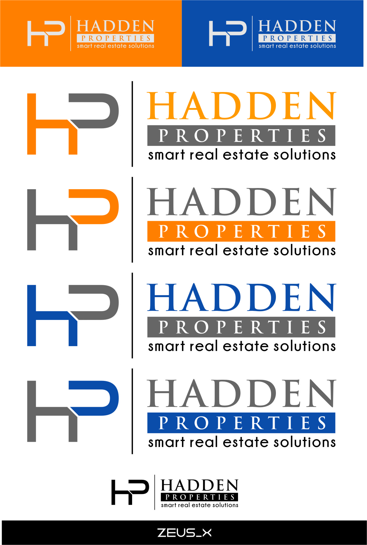 Logo Design by RasYa Muhammad Athaya - Entry No. 197 in the Logo Design Contest Artistic Logo Design for Hadden Properties.