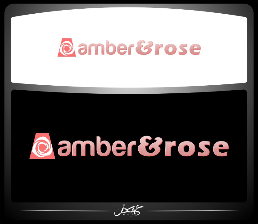 Logo Design by joca - Entry No. 63 in the Logo Design Contest Creative Logo Design for Amber & Rose.