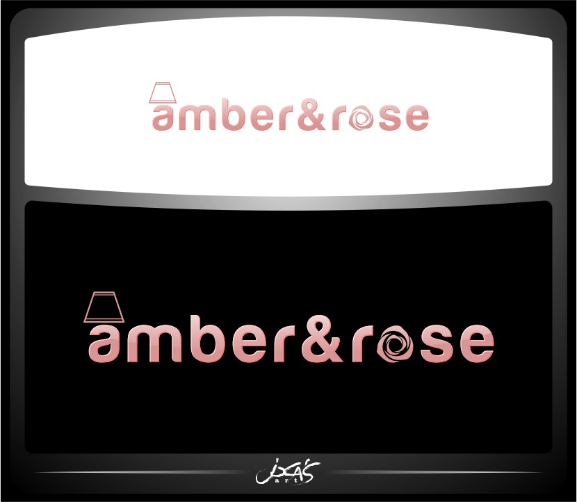 Logo Design by joca - Entry No. 64 in the Logo Design Contest Creative Logo Design for Amber & Rose.