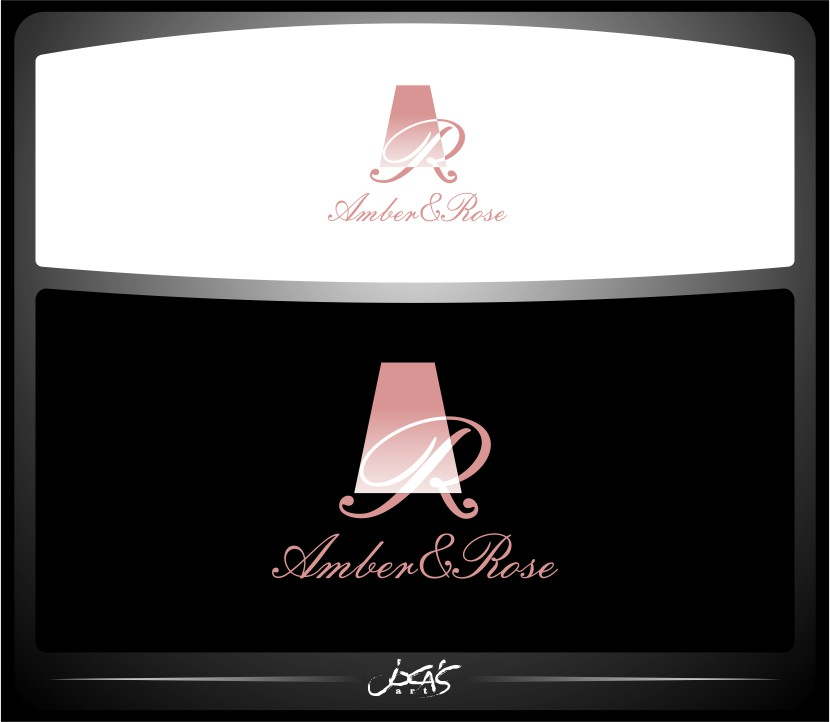 Logo Design by joca - Entry No. 65 in the Logo Design Contest Creative Logo Design for Amber & Rose.