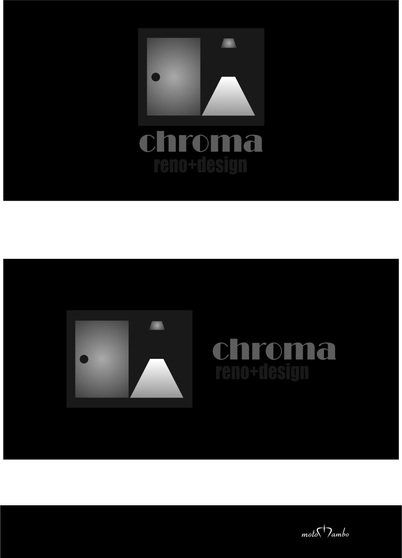 Logo Design by Nimrod Kabiru - Entry No. 264 in the Logo Design Contest Inspiring Logo Design for Chroma Reno+Design.