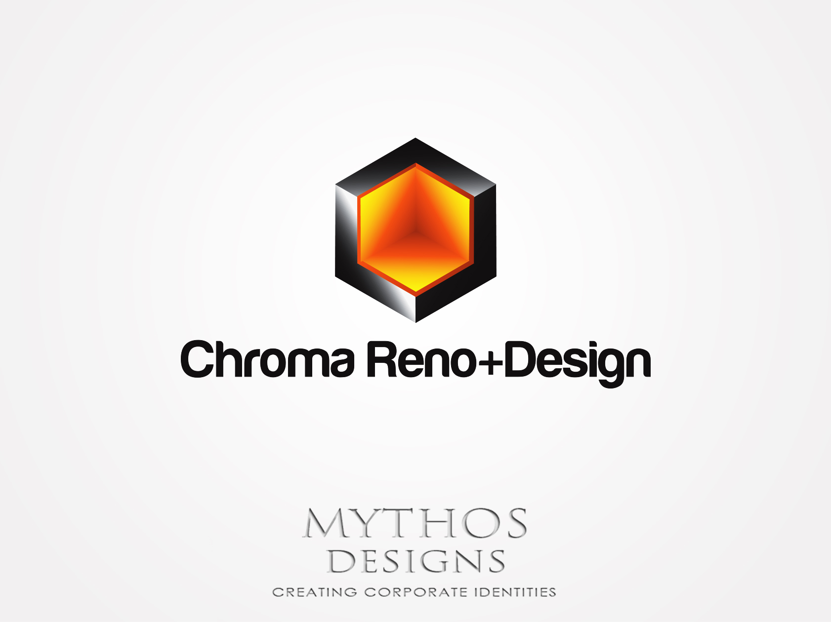 Logo Design by Mythos Designs - Entry No. 268 in the Logo Design Contest Inspiring Logo Design for Chroma Reno+Design.