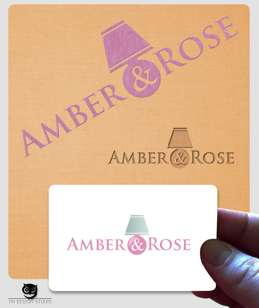Logo Design by Robert Turla - Entry No. 66 in the Logo Design Contest Creative Logo Design for Amber & Rose.