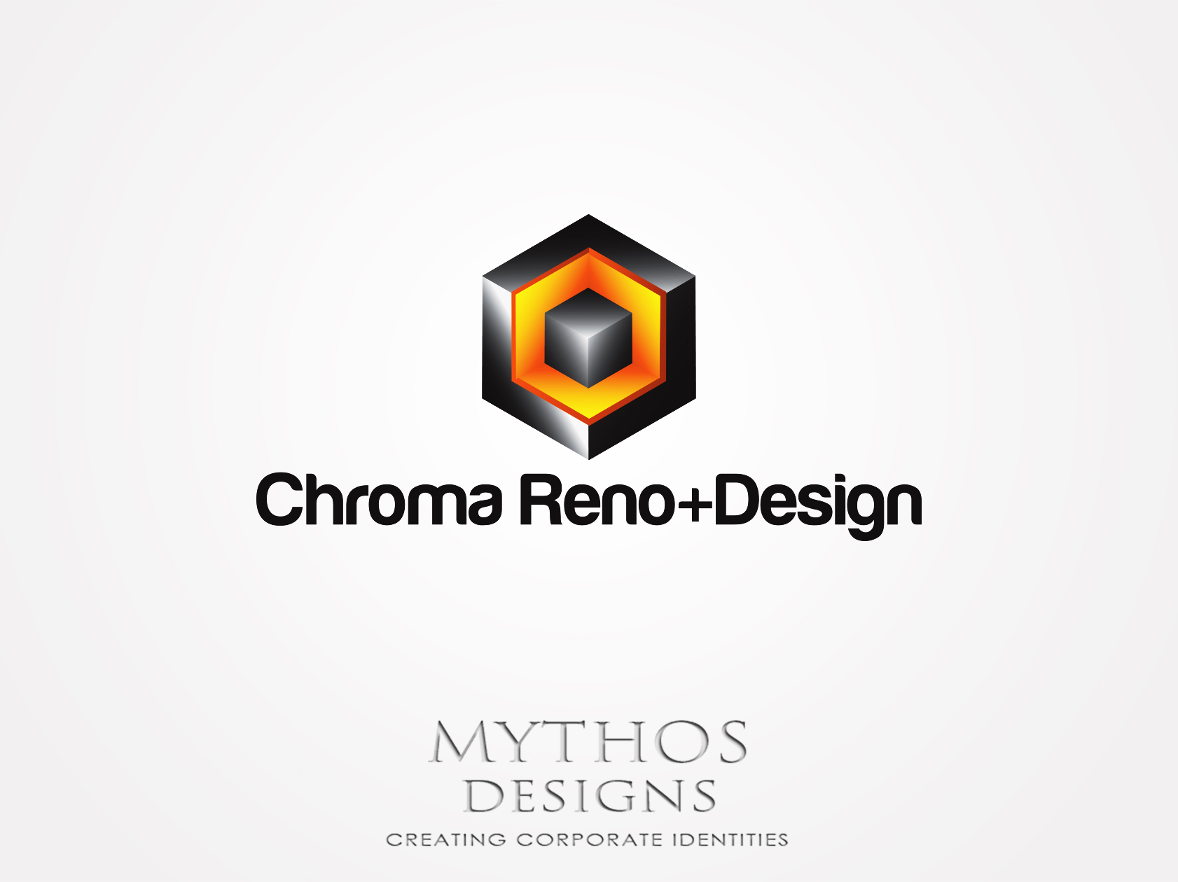 Logo Design by Mythos Designs - Entry No. 270 in the Logo Design Contest Inspiring Logo Design for Chroma Reno+Design.