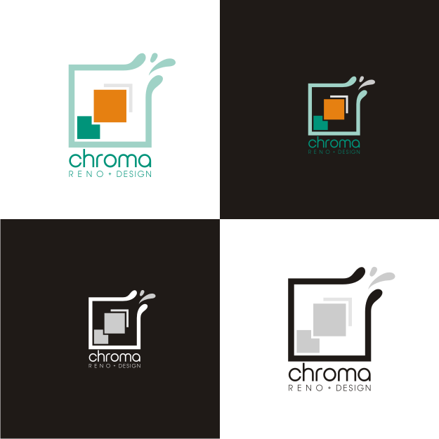 Logo Design by graphicleaf - Entry No. 272 in the Logo Design Contest Inspiring Logo Design for Chroma Reno+Design.