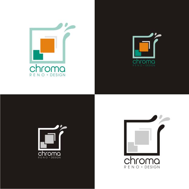 Logo Design by graphicleaf - Entry No. 272 in the Logo Design Contest Inspiring Logo Design for Chroma Reno+Design.