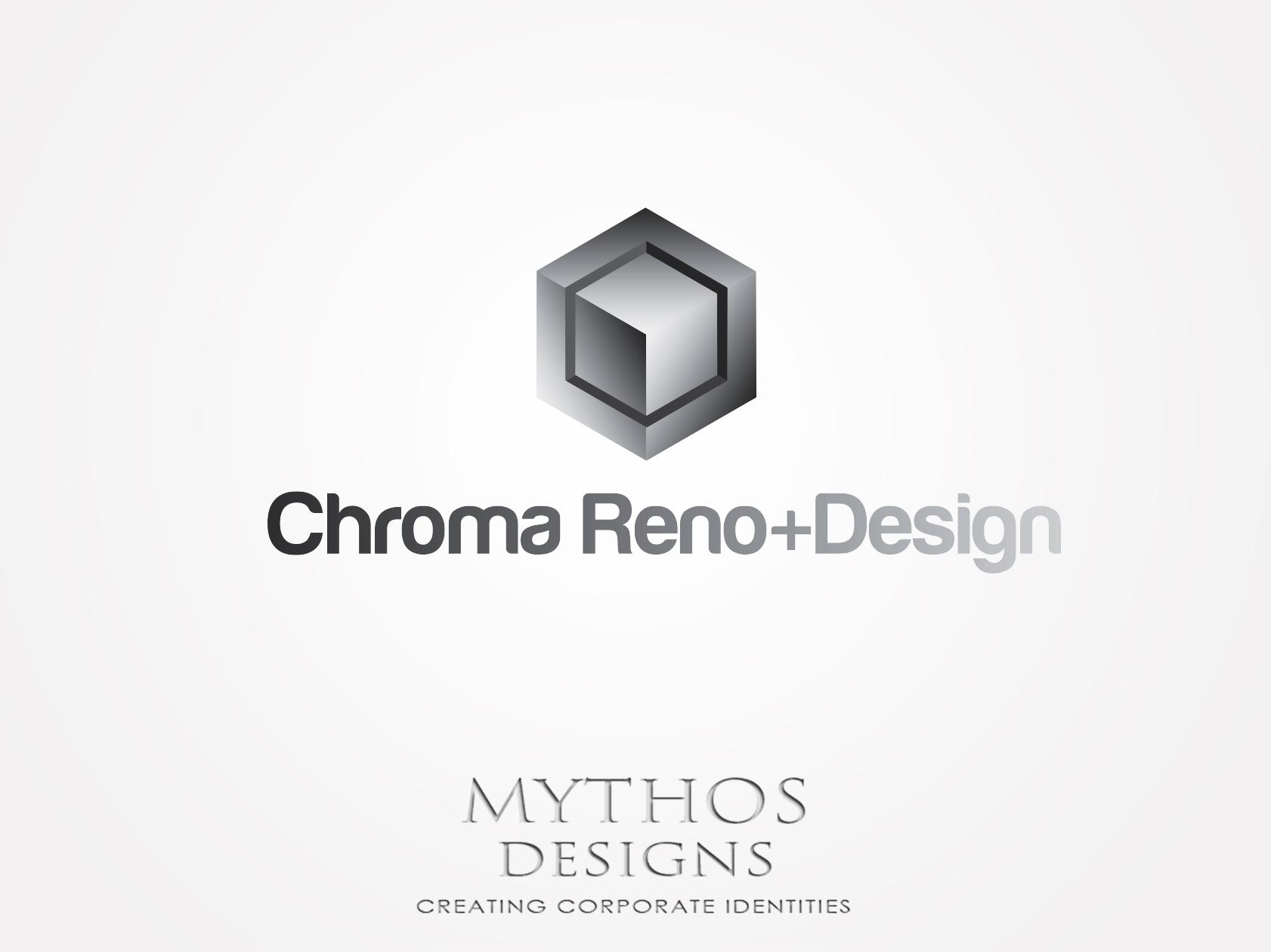 Logo Design by Mythos Designs - Entry No. 273 in the Logo Design Contest Inspiring Logo Design for Chroma Reno+Design.