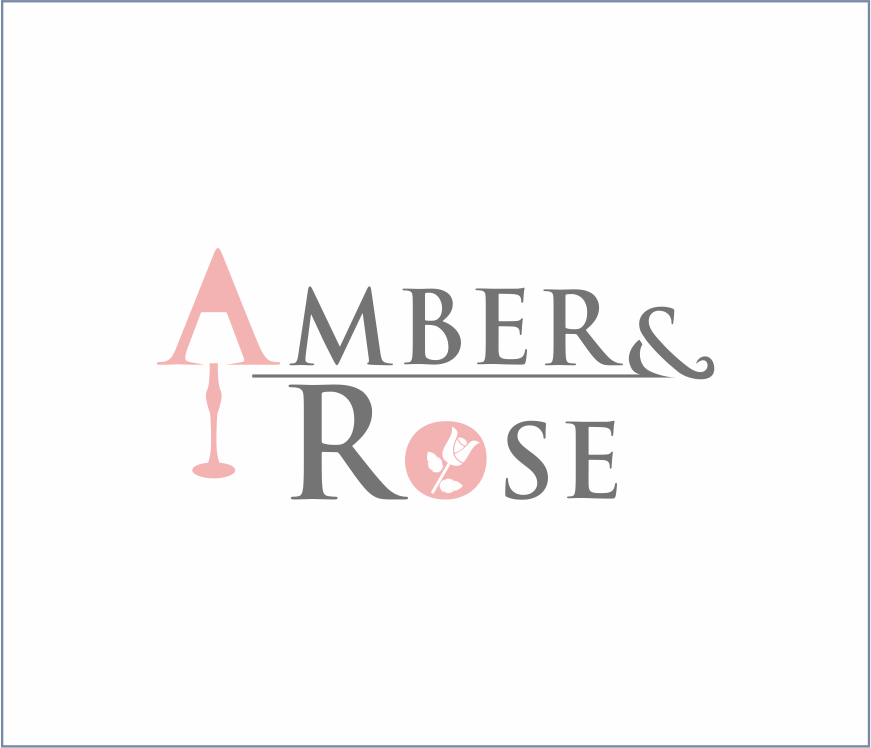 Logo Design by Armada Jamaluddin - Entry No. 67 in the Logo Design Contest Creative Logo Design for Amber & Rose.