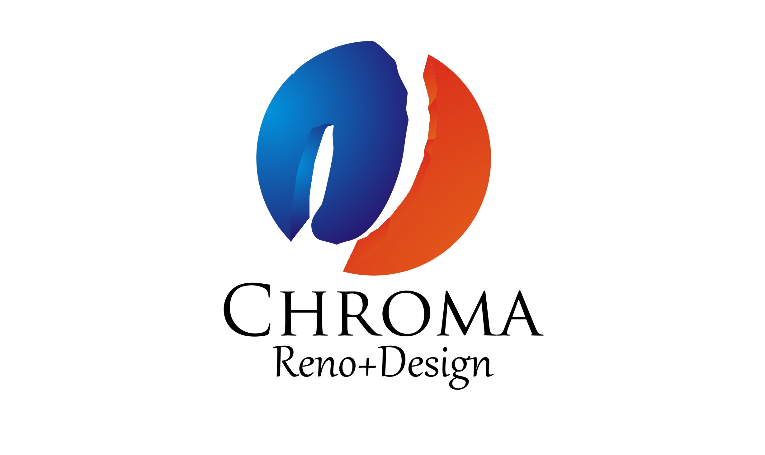 Logo Design by Josri Vengeance - Entry No. 277 in the Logo Design Contest Inspiring Logo Design for Chroma Reno+Design.
