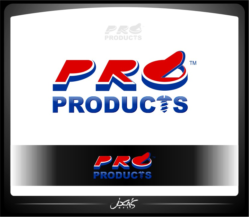 Logo Design by joca - Entry No. 31 in the Logo Design Contest Fun yet Professional Logo Design for ProProducts.