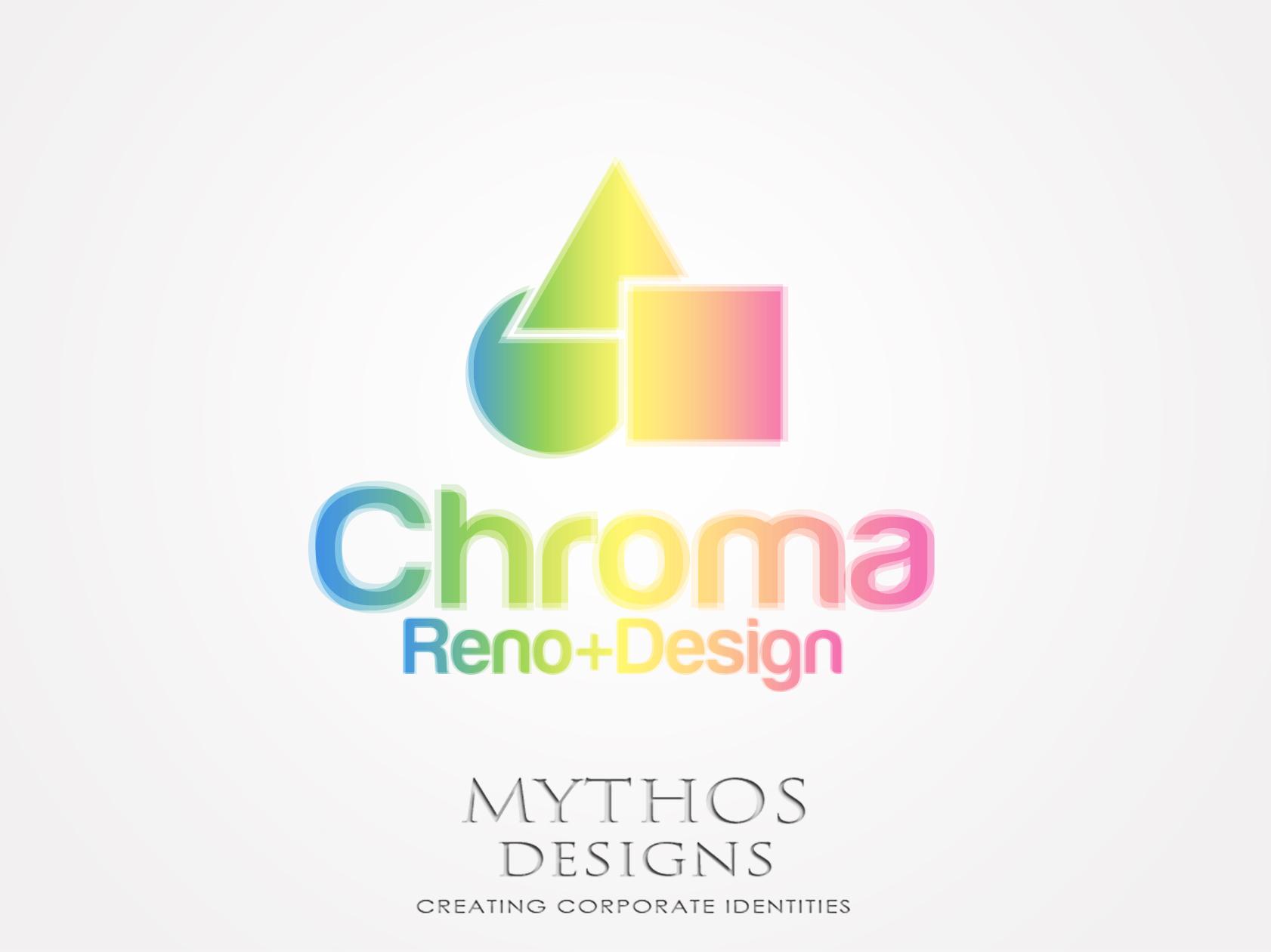 Logo Design by Mythos Designs - Entry No. 278 in the Logo Design Contest Inspiring Logo Design for Chroma Reno+Design.