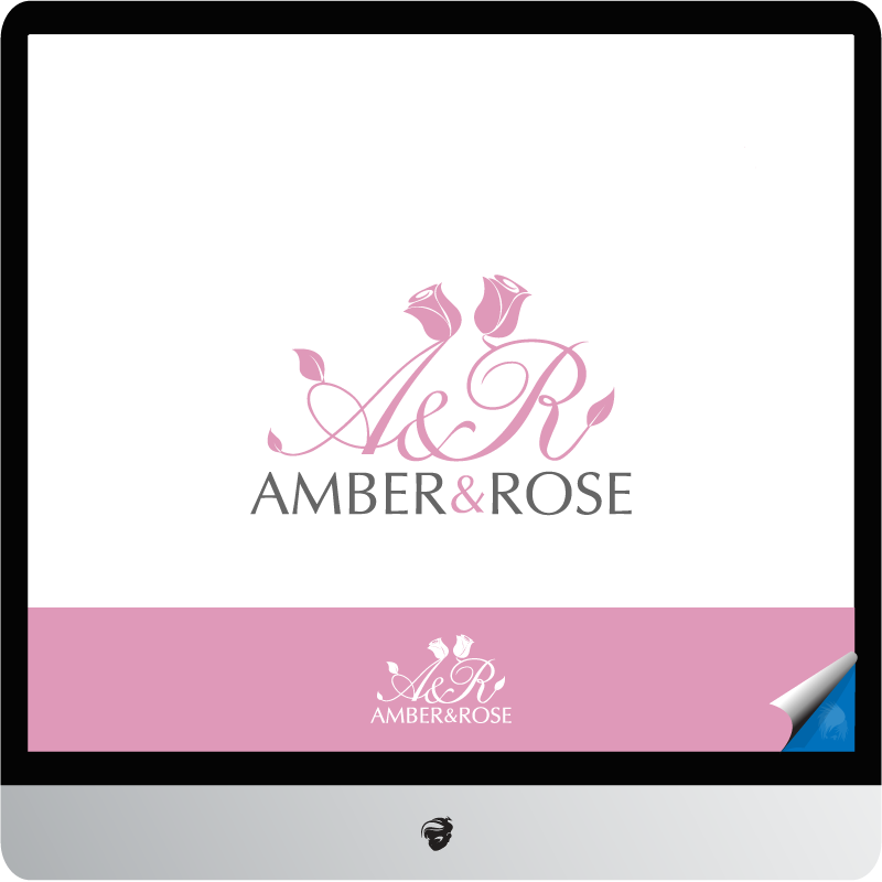 Logo Design by zesthar - Entry No. 71 in the Logo Design Contest Creative Logo Design for Amber & Rose.