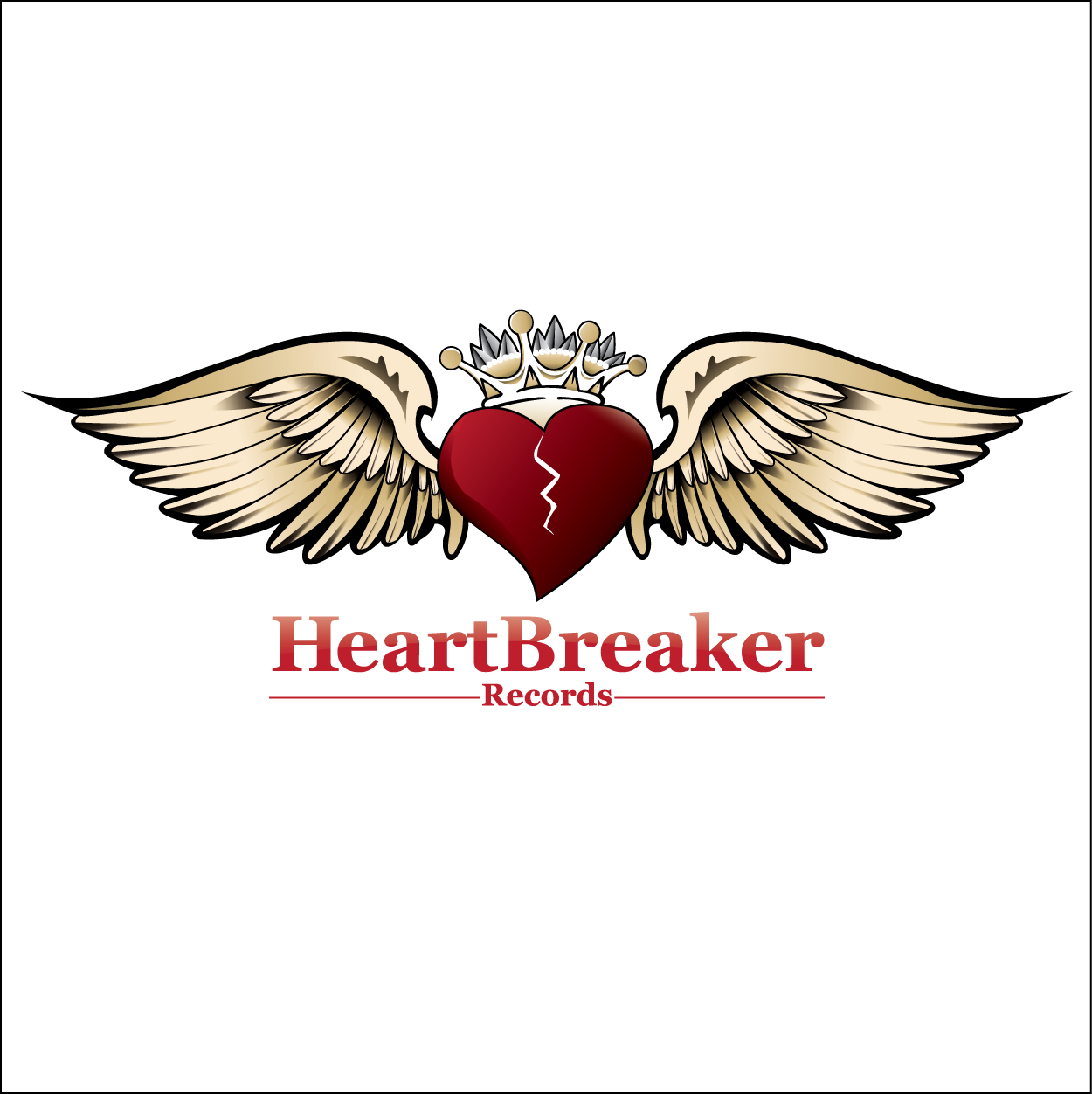 Logo Design by trabas - Entry No. 62 in the Logo Design Contest Heartbreaker Records.