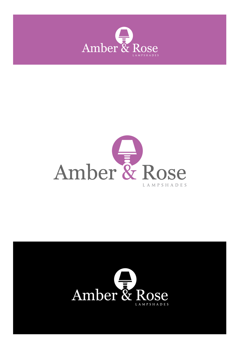 Logo Design by Shameer Okay - Entry No. 75 in the Logo Design Contest Creative Logo Design for Amber & Rose.