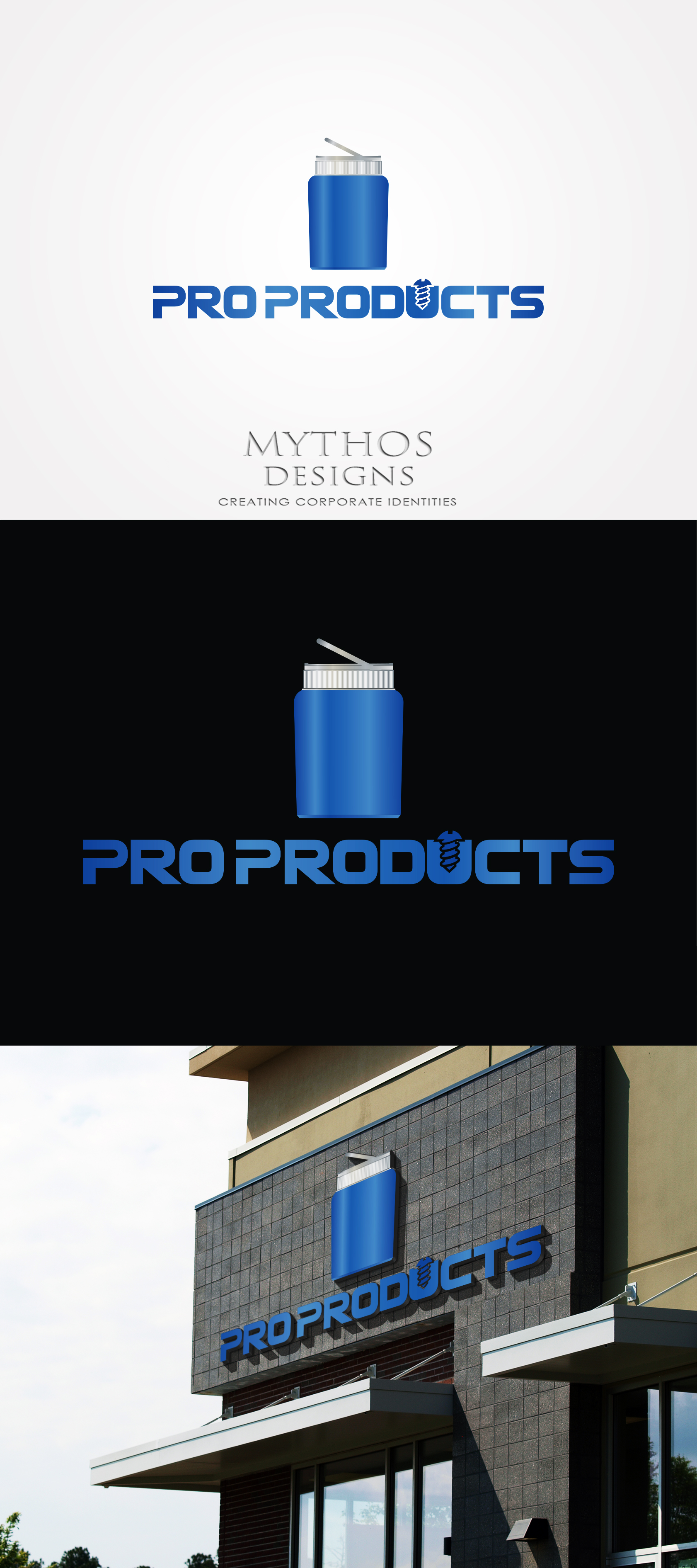 Logo Design by Mythos Designs - Entry No. 33 in the Logo Design Contest Fun yet Professional Logo Design for ProProducts.