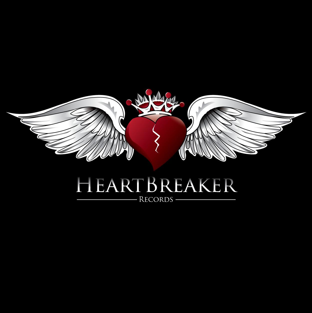 Logo Design by trabas - Entry No. 63 in the Logo Design Contest Heartbreaker Records.