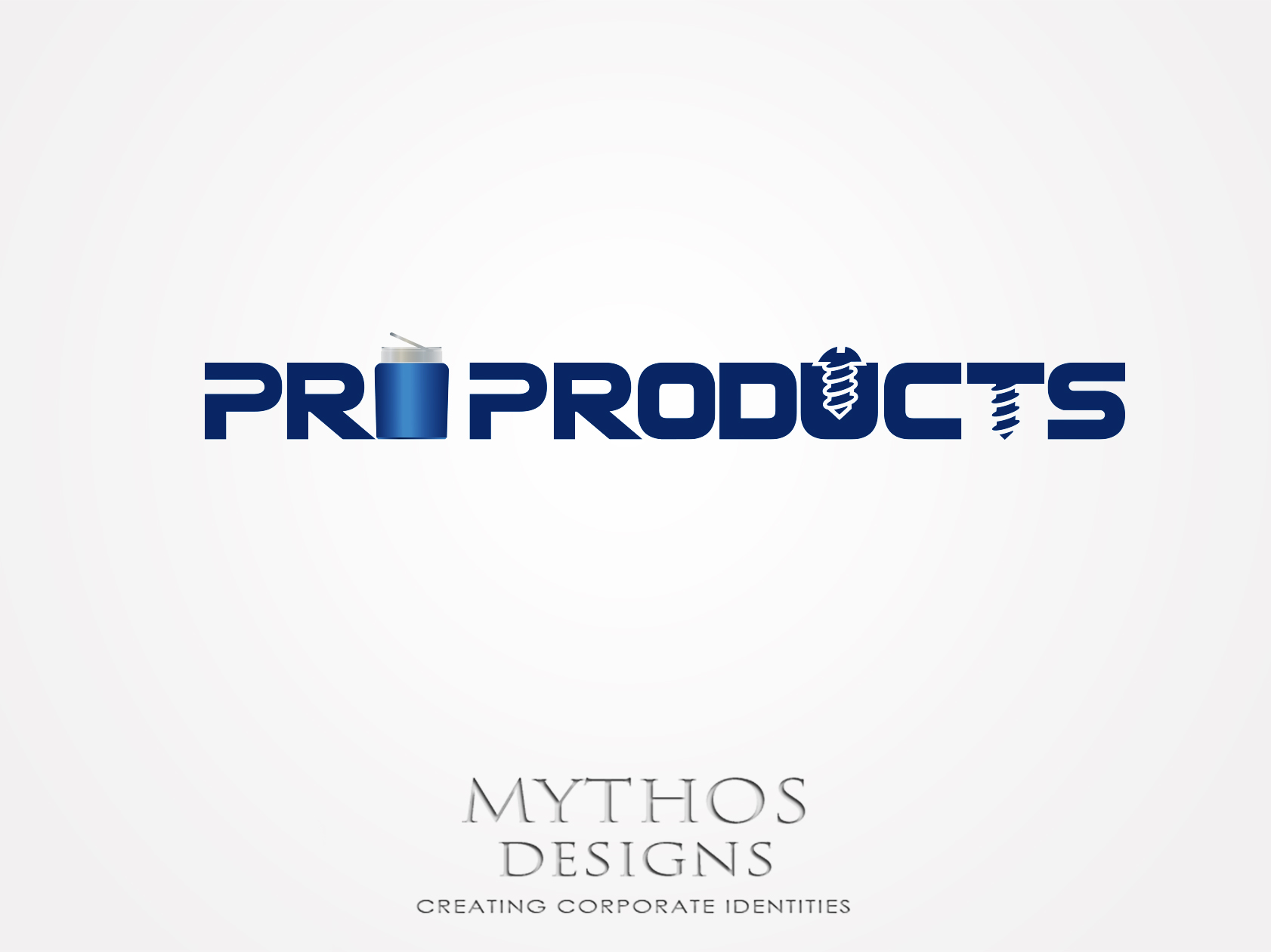 Logo Design by Mythos Designs - Entry No. 35 in the Logo Design Contest Fun yet Professional Logo Design for ProProducts.
