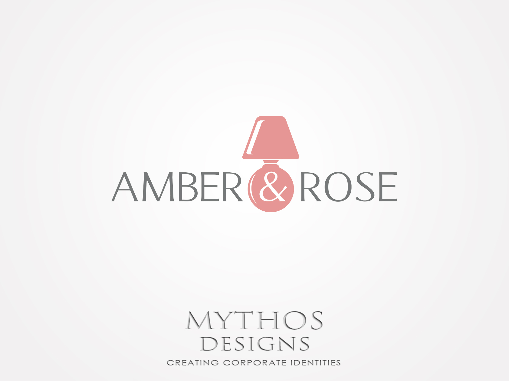 Logo Design by Mythos Designs - Entry No. 79 in the Logo Design Contest Creative Logo Design for Amber & Rose.