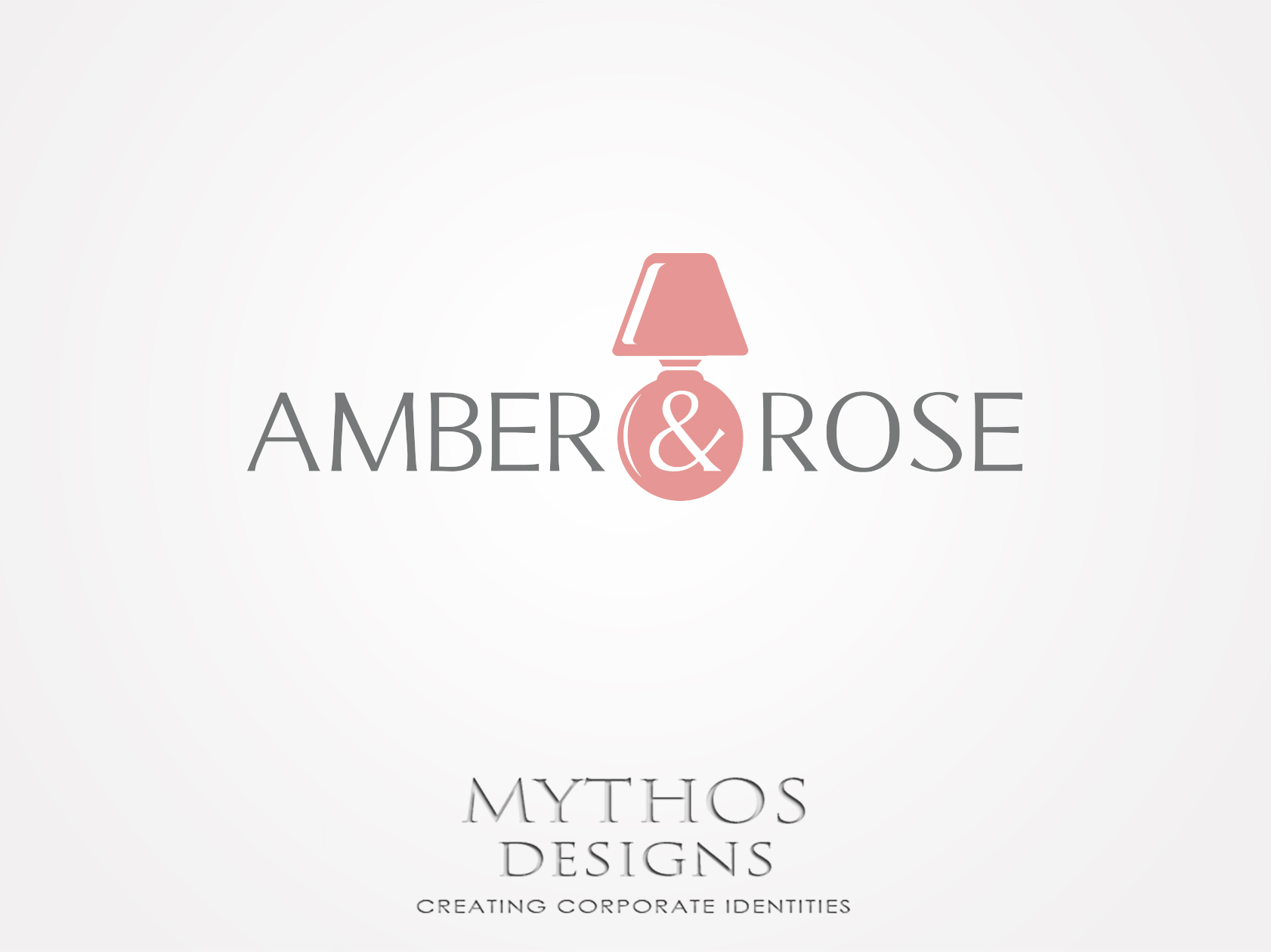 Logo Design by Mythos Designs - Entry No. 80 in the Logo Design Contest Creative Logo Design for Amber & Rose.