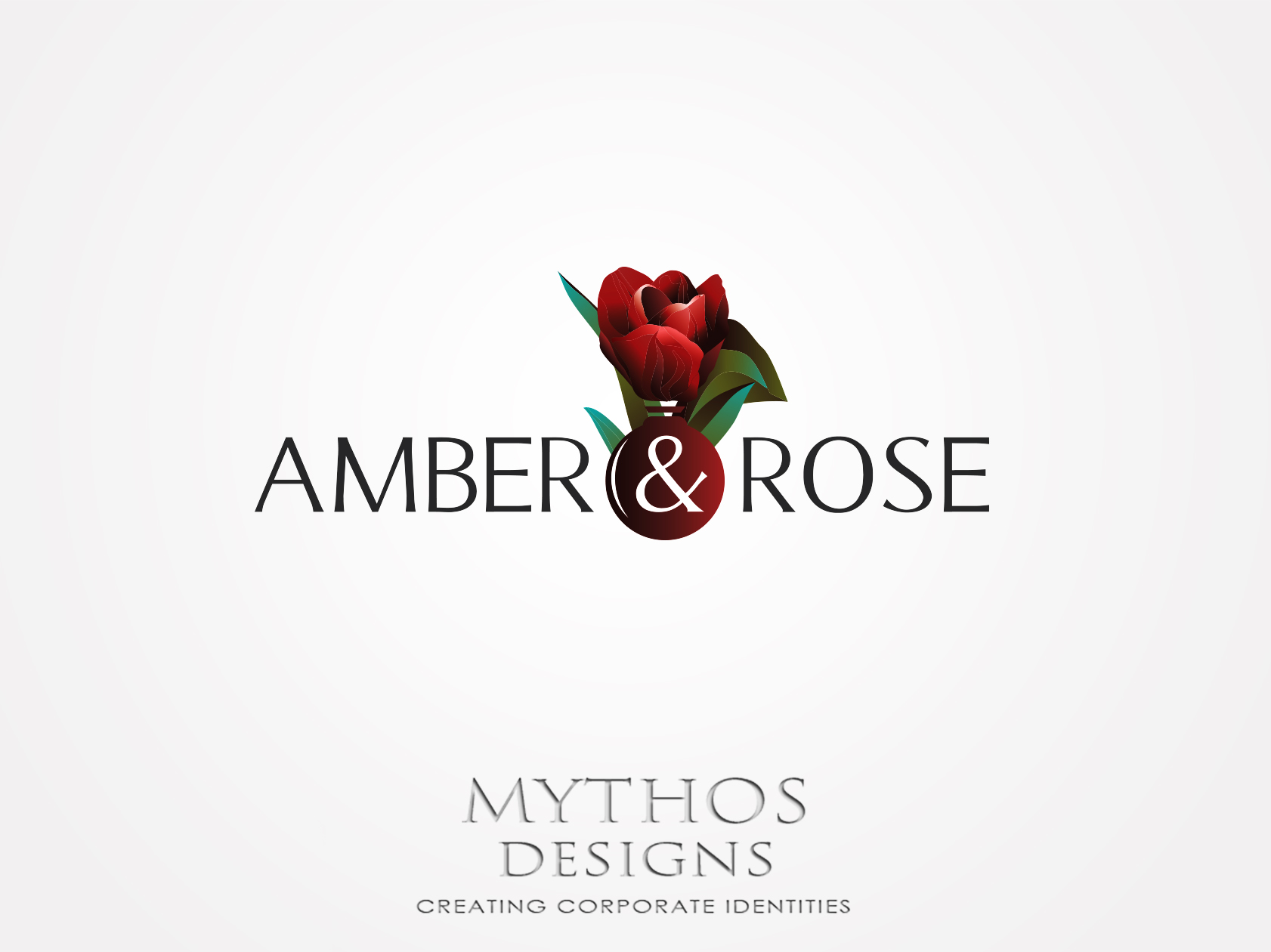 Logo Design by Mythos Designs - Entry No. 81 in the Logo Design Contest Creative Logo Design for Amber & Rose.