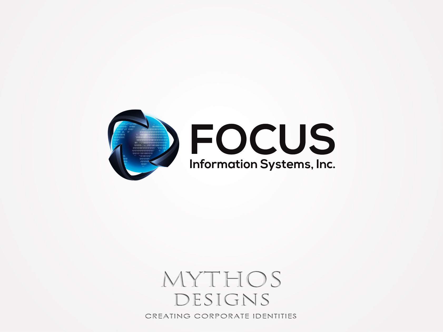 Logo Design by Mythos Designs - Entry No. 43 in the Logo Design Contest Artistic Logo Design for Focus Information Systems, Inc..
