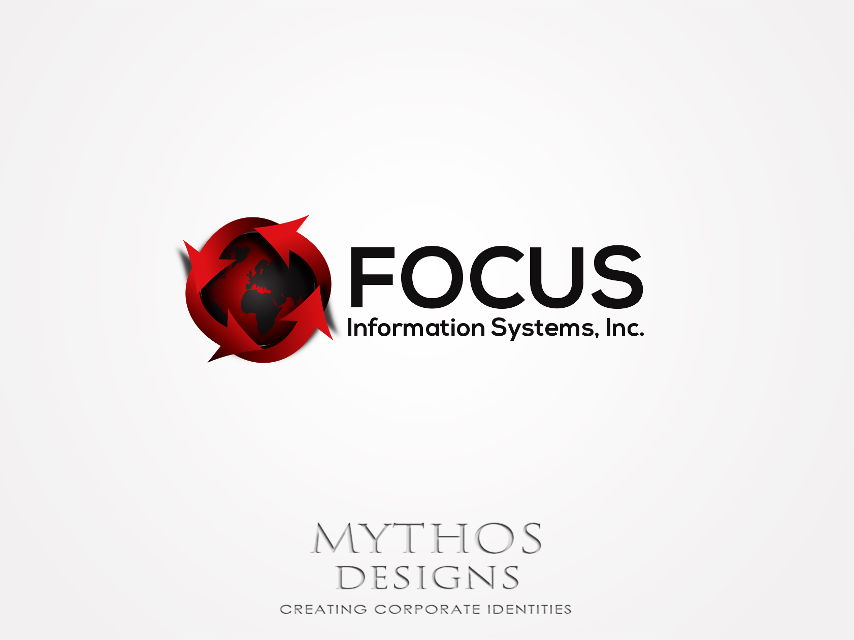 Logo Design by Mythos Designs - Entry No. 44 in the Logo Design Contest Artistic Logo Design for Focus Information Systems, Inc..