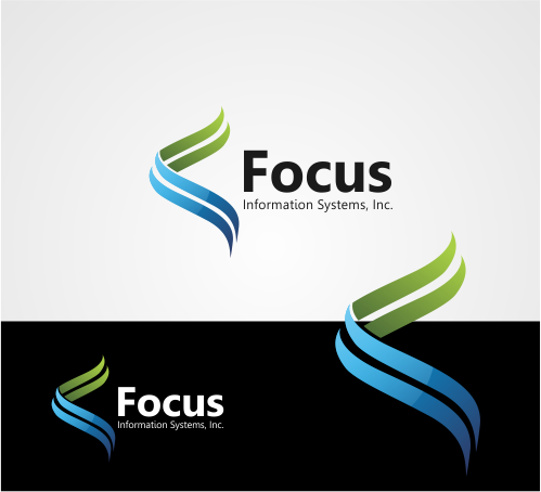 Logo Design by OriQ - Entry No. 45 in the Logo Design Contest Artistic Logo Design for Focus Information Systems, Inc..