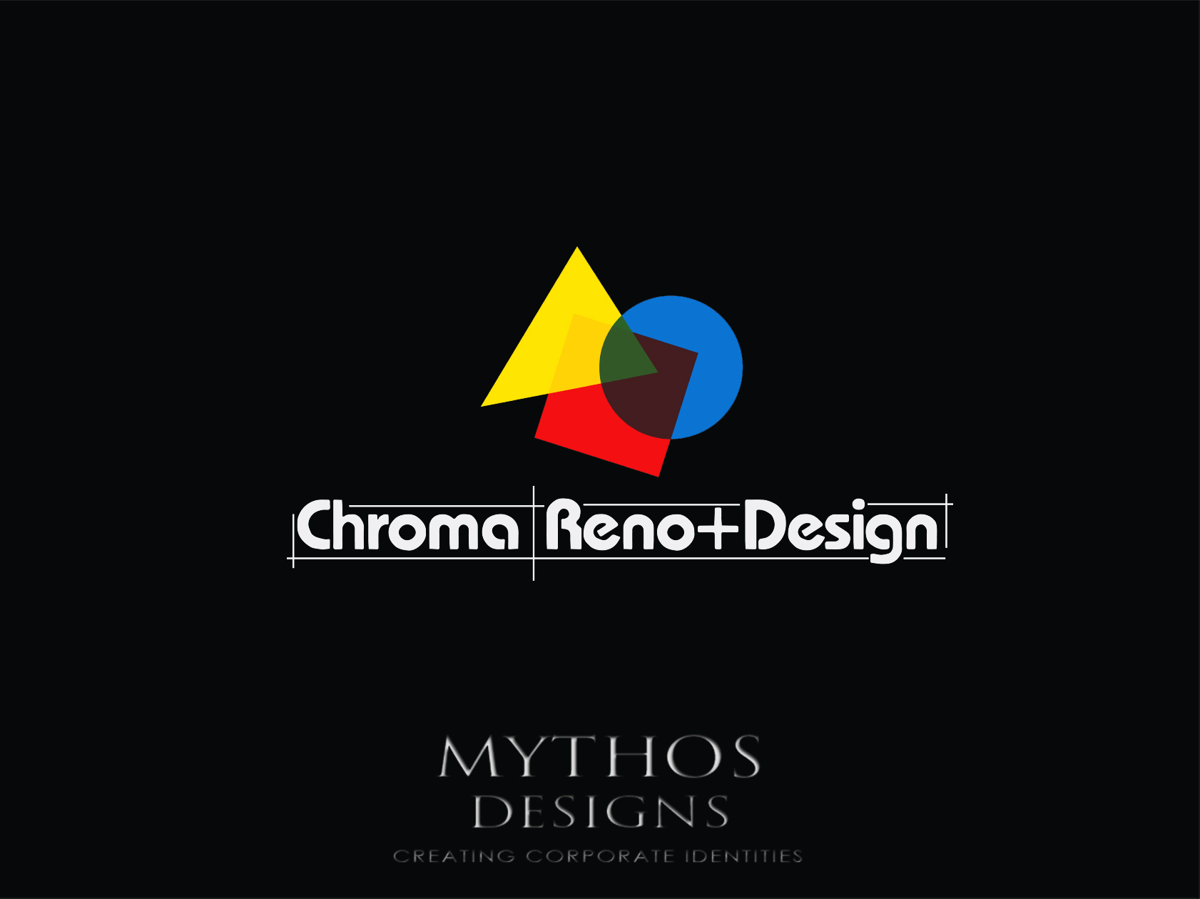 Logo Design by Mythos Designs - Entry No. 282 in the Logo Design Contest Inspiring Logo Design for Chroma Reno+Design.