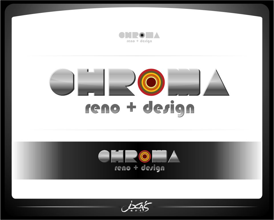 Logo Design by joca - Entry No. 284 in the Logo Design Contest Inspiring Logo Design for Chroma Reno+Design.