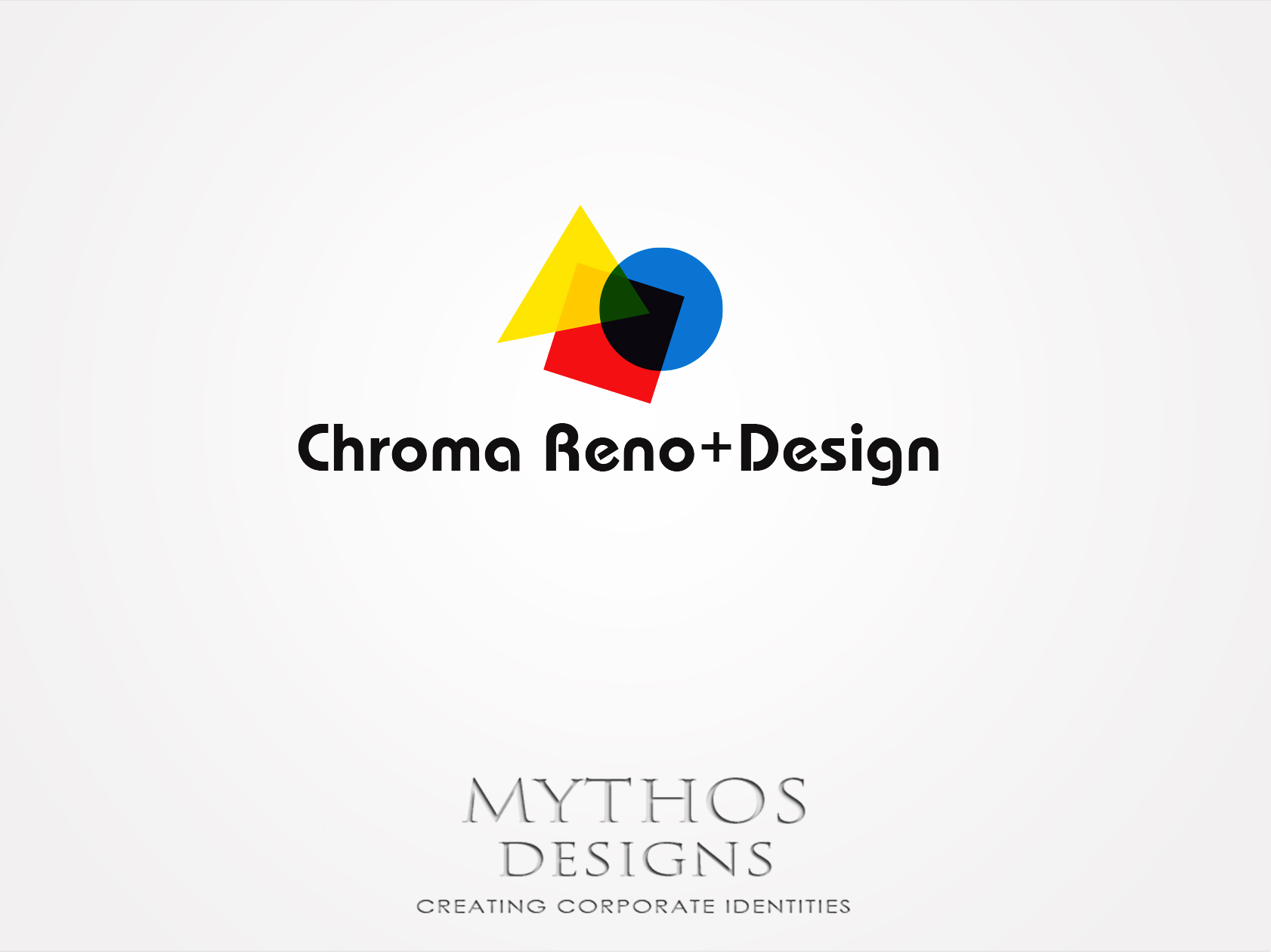 Logo Design by Mythos Designs - Entry No. 285 in the Logo Design Contest Inspiring Logo Design for Chroma Reno+Design.