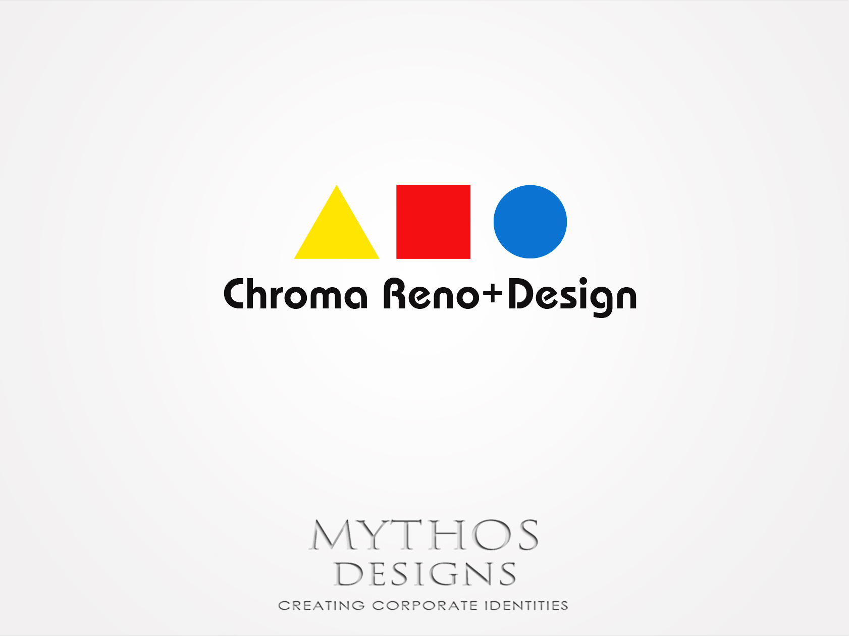Logo Design by Mythos Designs - Entry No. 286 in the Logo Design Contest Inspiring Logo Design for Chroma Reno+Design.