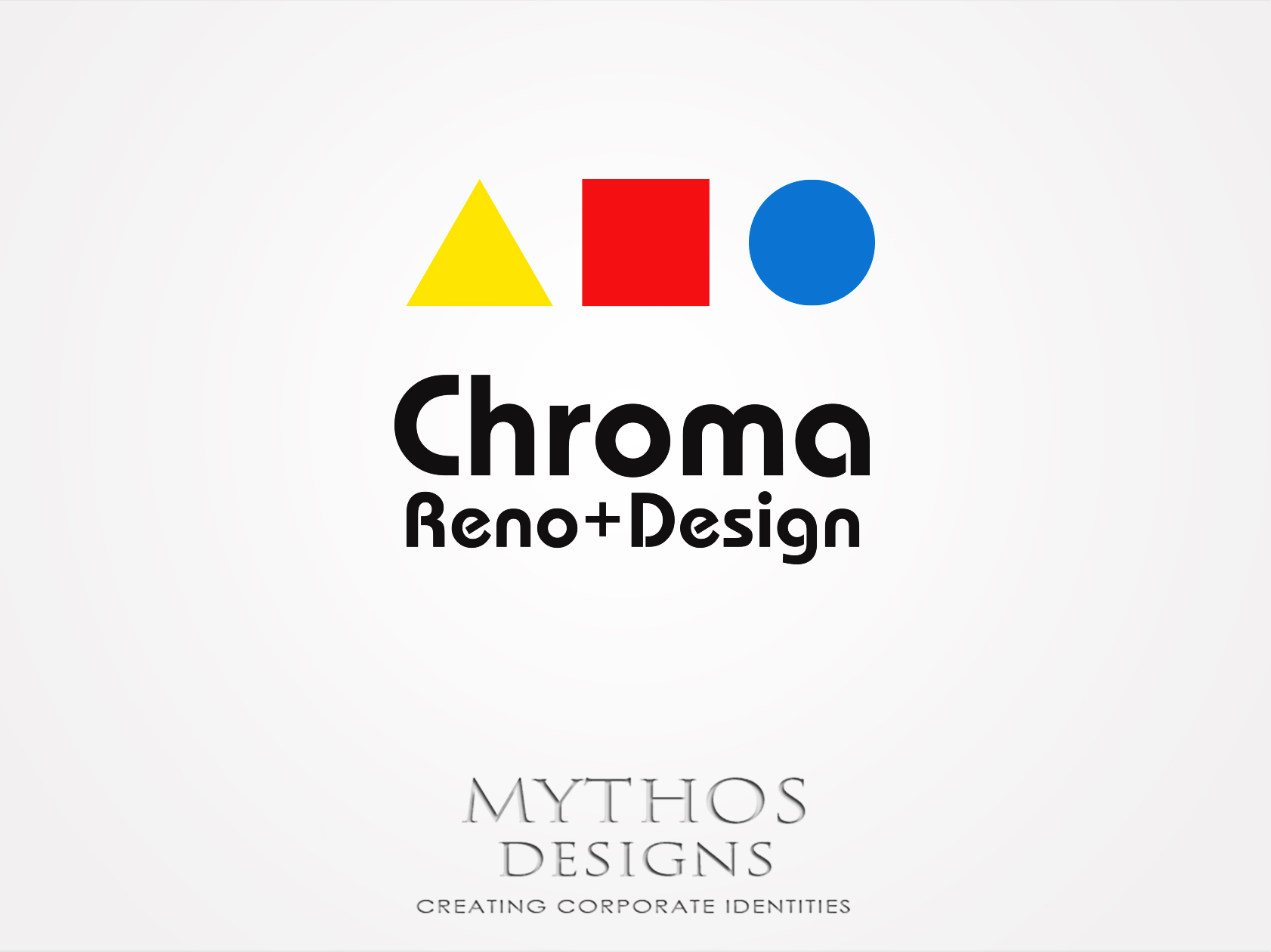 Logo Design by Mythos Designs - Entry No. 287 in the Logo Design Contest Inspiring Logo Design for Chroma Reno+Design.