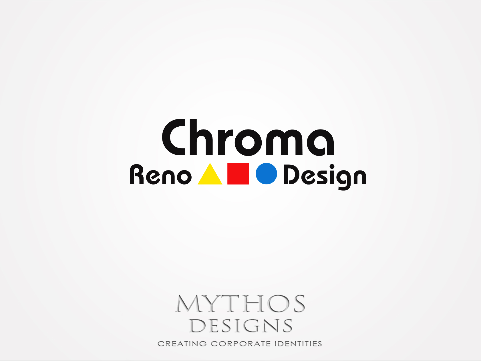 Logo Design by Mythos Designs - Entry No. 288 in the Logo Design Contest Inspiring Logo Design for Chroma Reno+Design.