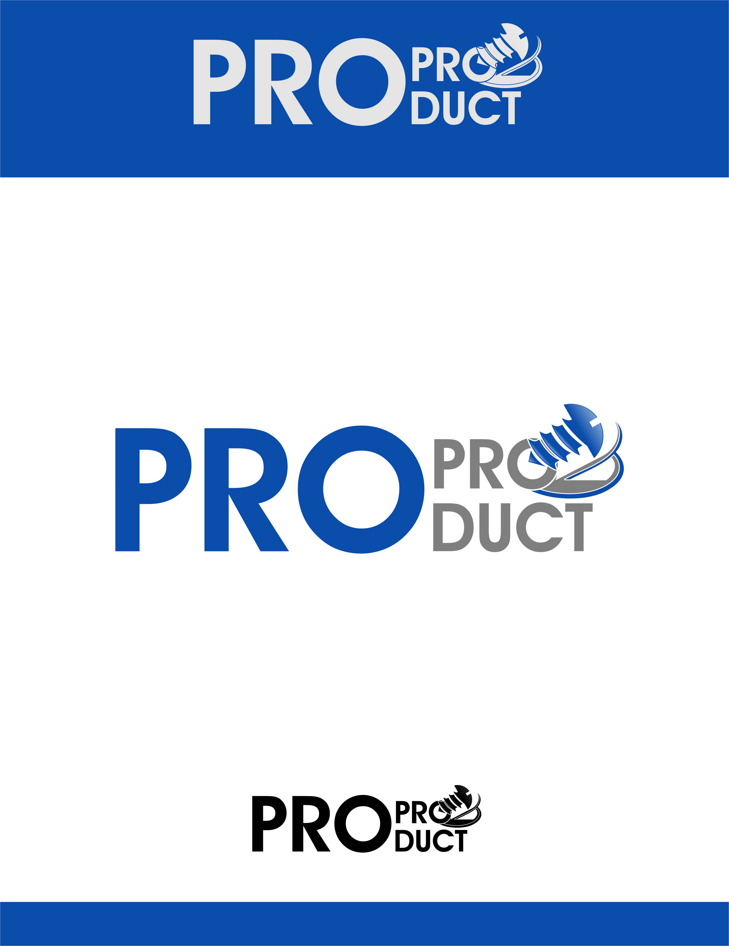 Logo Design by RasYa Muhammad Athaya - Entry No. 41 in the Logo Design Contest Fun yet Professional Logo Design for ProProducts.