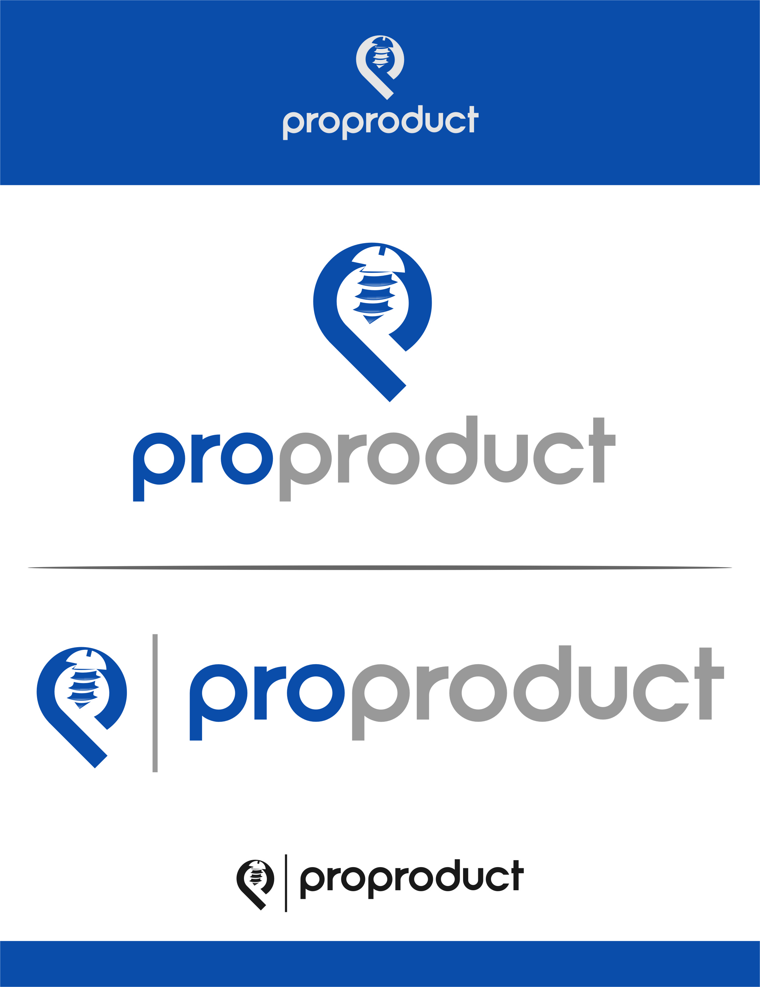 Logo Design by Ngepet_art - Entry No. 43 in the Logo Design Contest Fun yet Professional Logo Design for ProProducts.