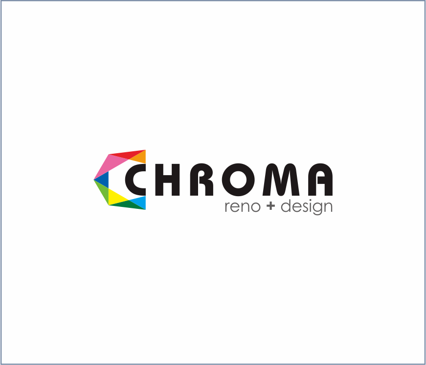 Logo Design by Armada Jamaluddin - Entry No. 289 in the Logo Design Contest Inspiring Logo Design for Chroma Reno+Design.