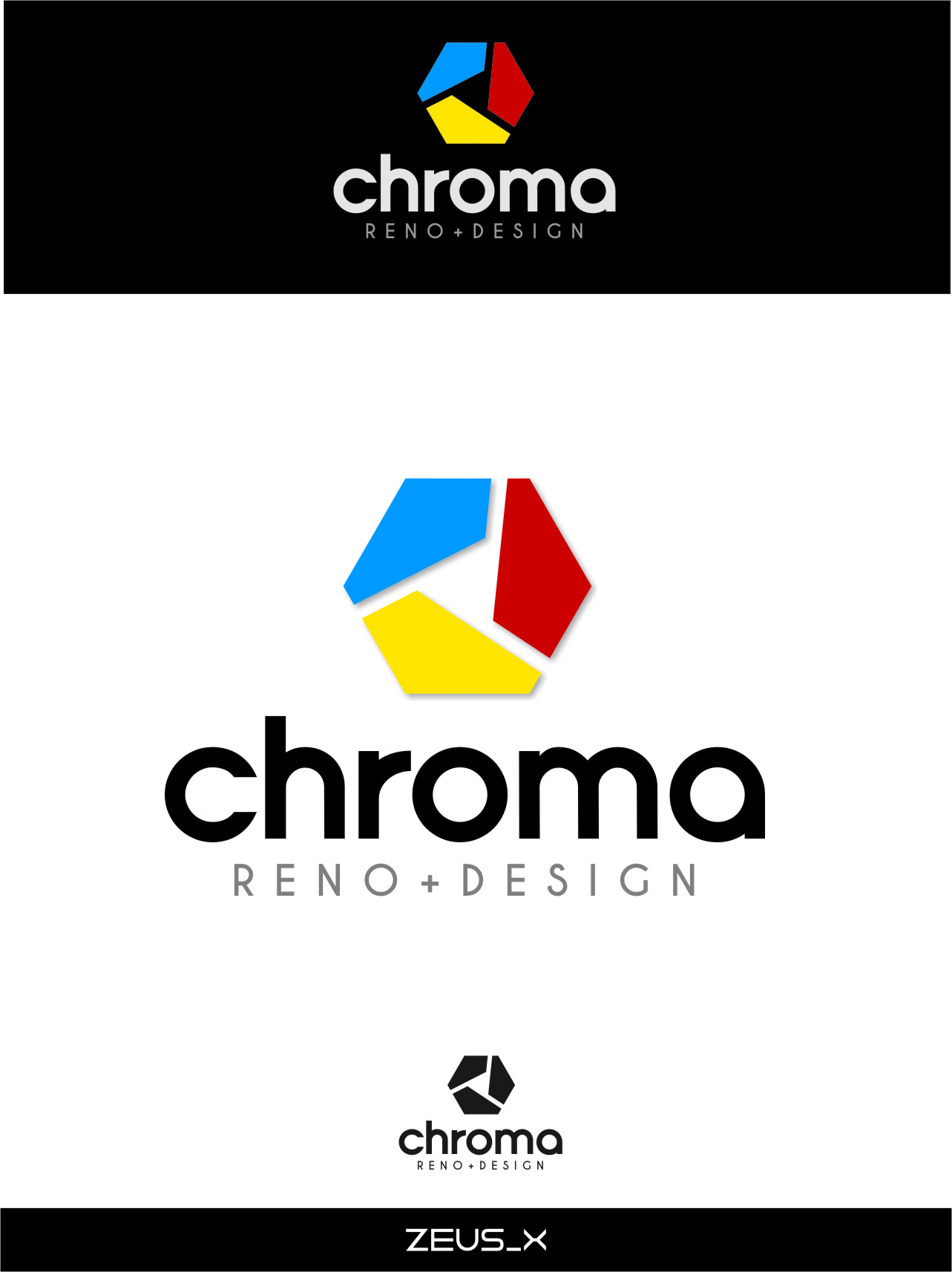 Logo Design by Ngepet_art - Entry No. 290 in the Logo Design Contest Inspiring Logo Design for Chroma Reno+Design.