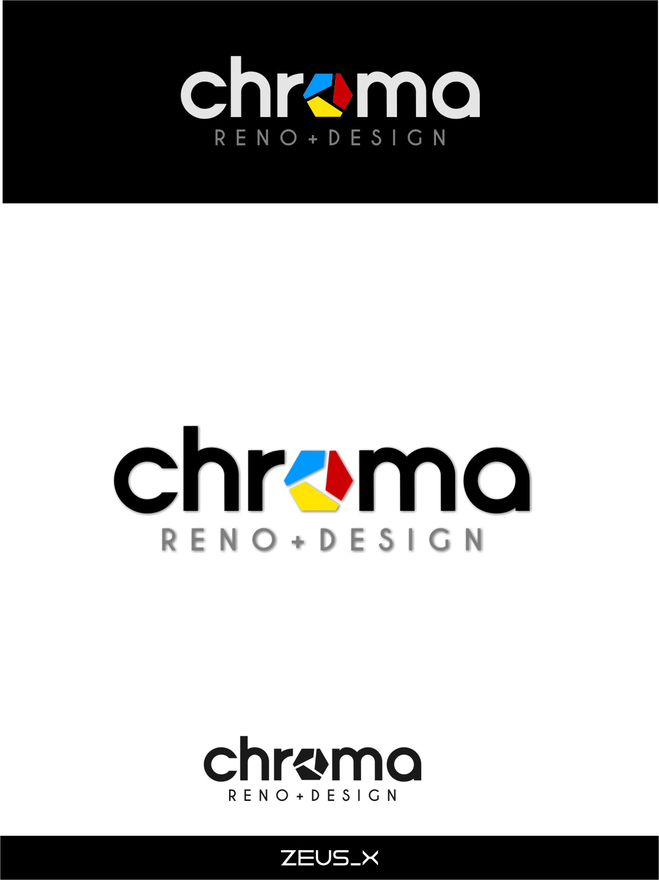 Logo Design by RasYa Muhammad Athaya - Entry No. 291 in the Logo Design Contest Inspiring Logo Design for Chroma Reno+Design.