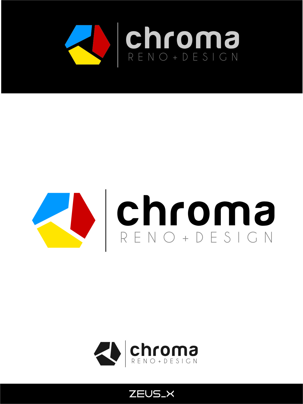 Logo Design by RoSyid Rono-Rene On Java - Entry No. 293 in the Logo Design Contest Inspiring Logo Design for Chroma Reno+Design.