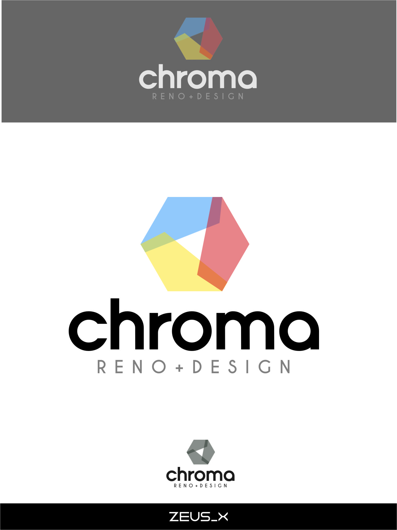 Logo Design by RoSyid Rono-Rene On Java - Entry No. 294 in the Logo Design Contest Inspiring Logo Design for Chroma Reno+Design.