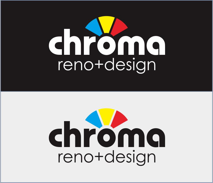Logo Design by Armada Jamaluddin - Entry No. 295 in the Logo Design Contest Inspiring Logo Design for Chroma Reno+Design.