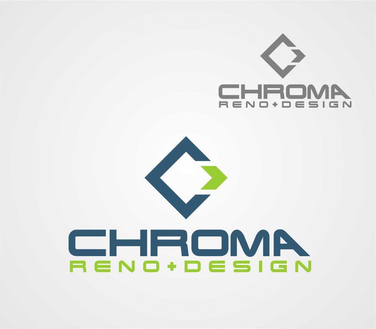 Logo Design by Reivan Ferdinan - Entry No. 296 in the Logo Design Contest Inspiring Logo Design for Chroma Reno+Design.