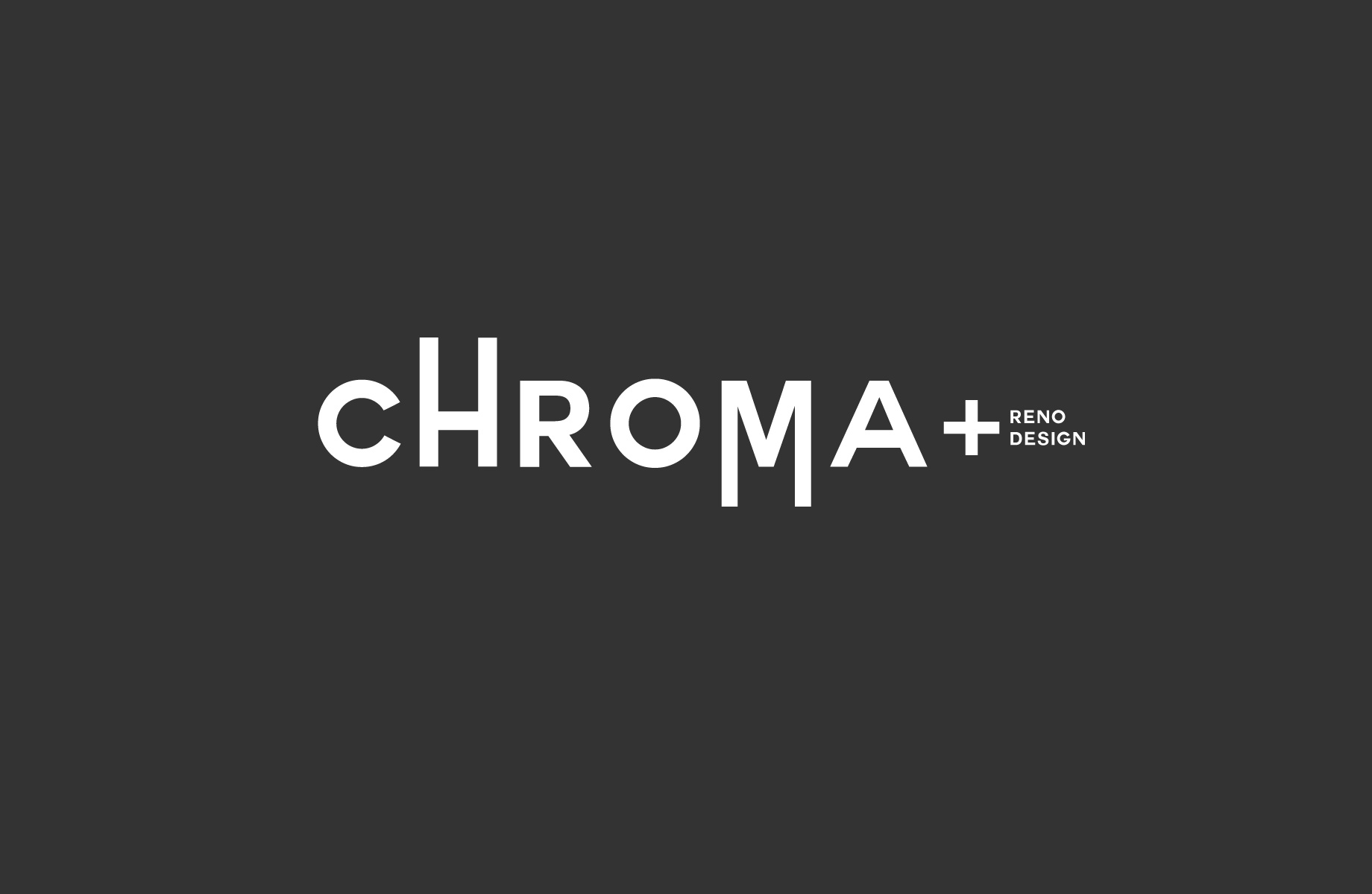 Logo Design by Jan Chua - Entry No. 300 in the Logo Design Contest Inspiring Logo Design for Chroma Reno+Design.