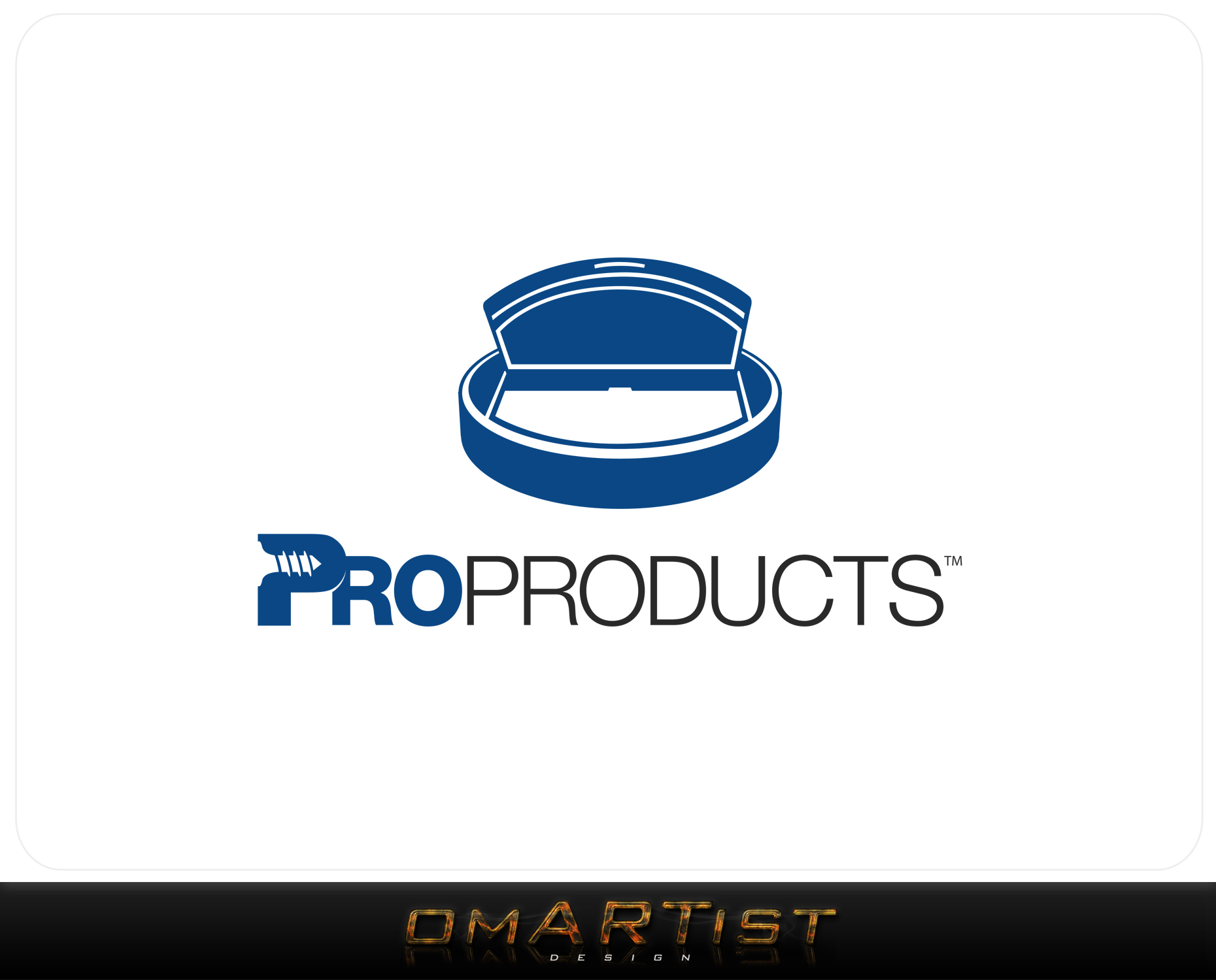 Logo Design by omARTist - Entry No. 56 in the Logo Design Contest Fun yet Professional Logo Design for ProProducts.