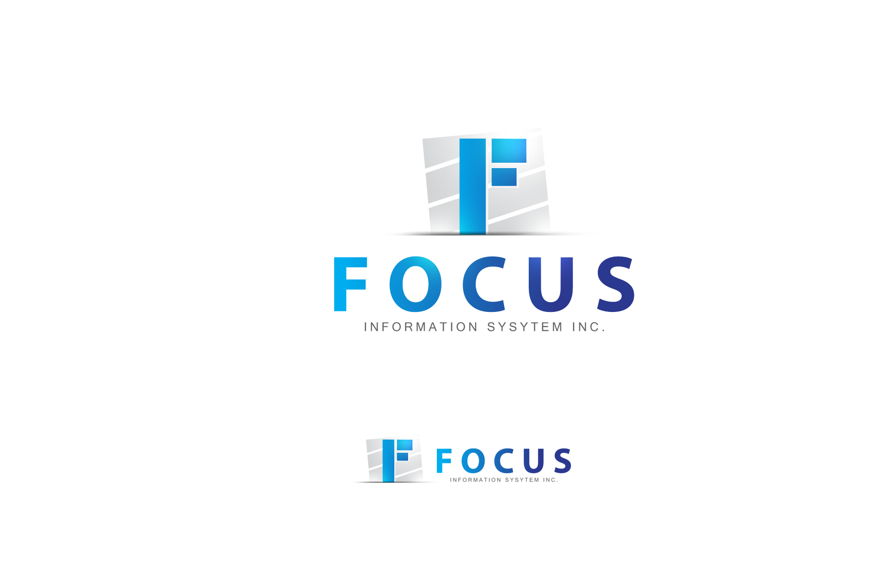 Logo Design by Jan Chua - Entry No. 50 in the Logo Design Contest Artistic Logo Design for Focus Information Systems, Inc..