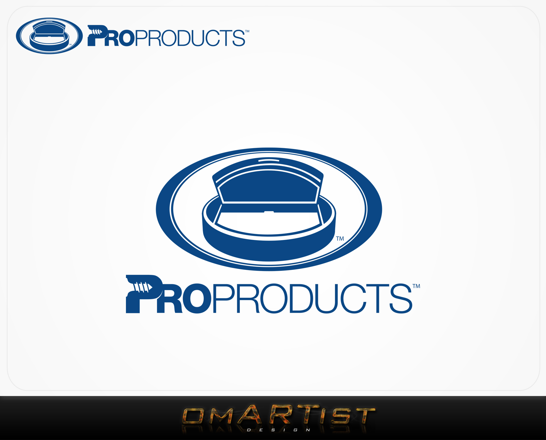 Logo Design by omARTist - Entry No. 58 in the Logo Design Contest Fun yet Professional Logo Design for ProProducts.