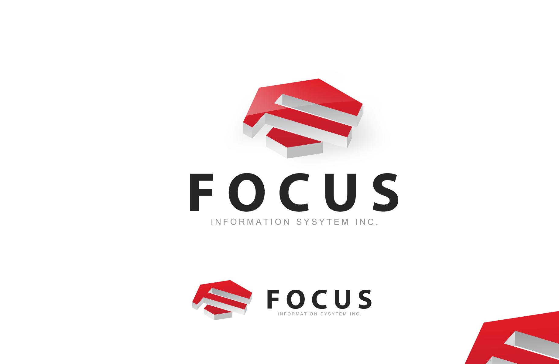 Logo Design by Jan Chua - Entry No. 52 in the Logo Design Contest Artistic Logo Design for Focus Information Systems, Inc..