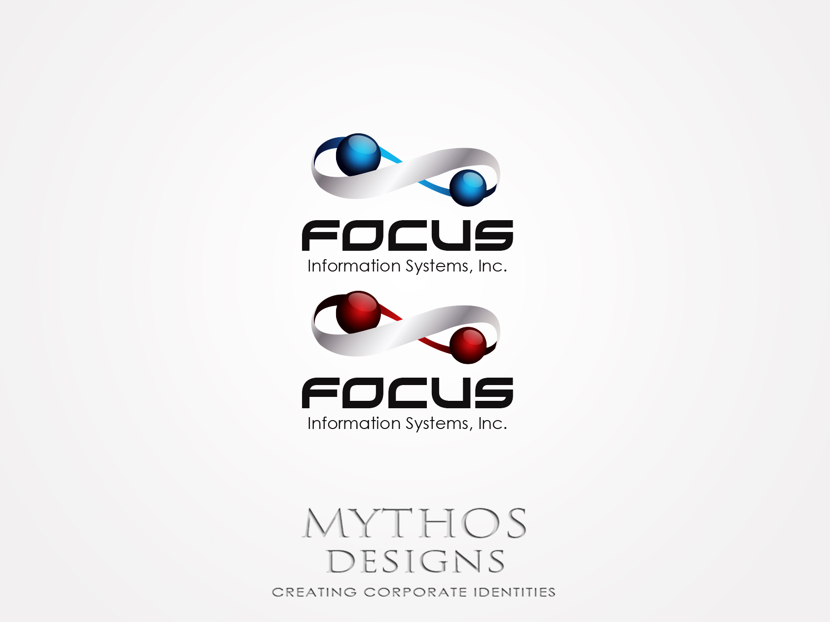 Logo Design by Mythos Designs - Entry No. 53 in the Logo Design Contest Artistic Logo Design for Focus Information Systems, Inc..