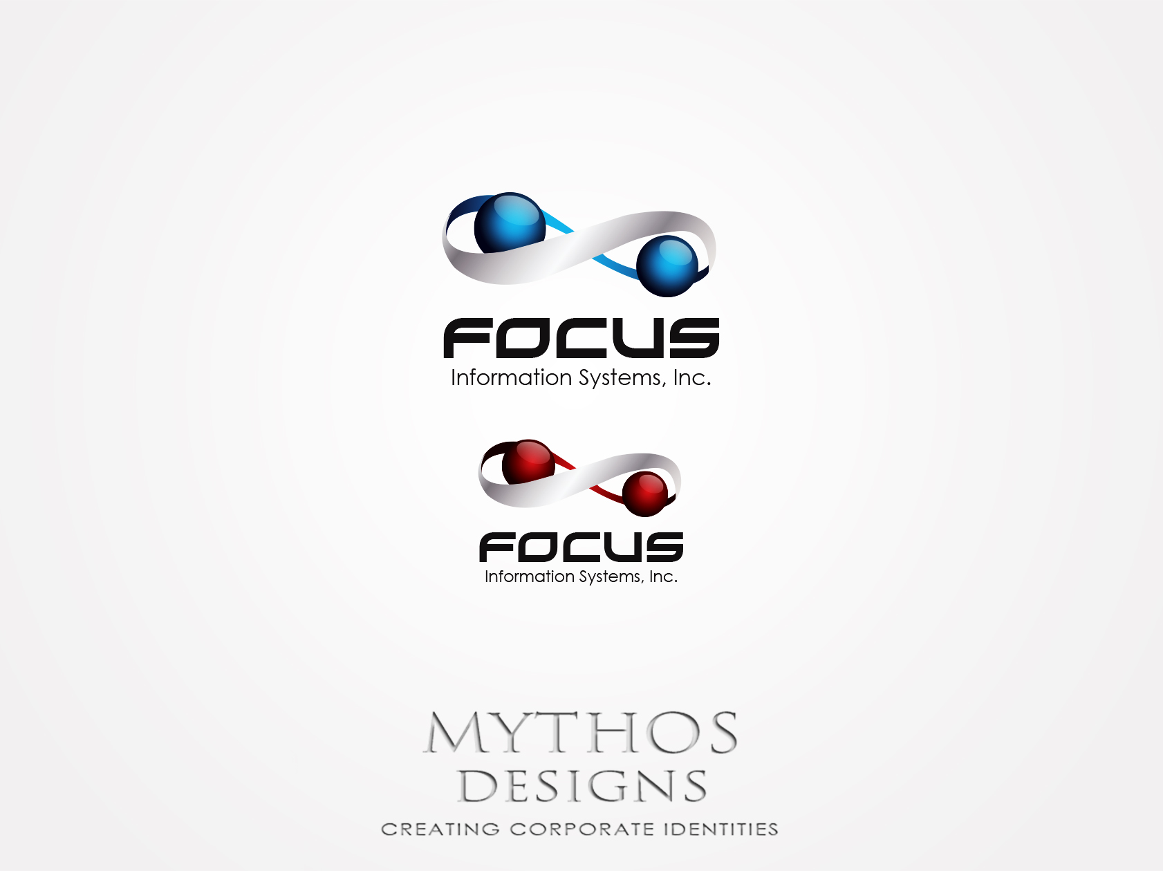 Logo Design by Mythos Designs - Entry No. 54 in the Logo Design Contest Artistic Logo Design for Focus Information Systems, Inc..