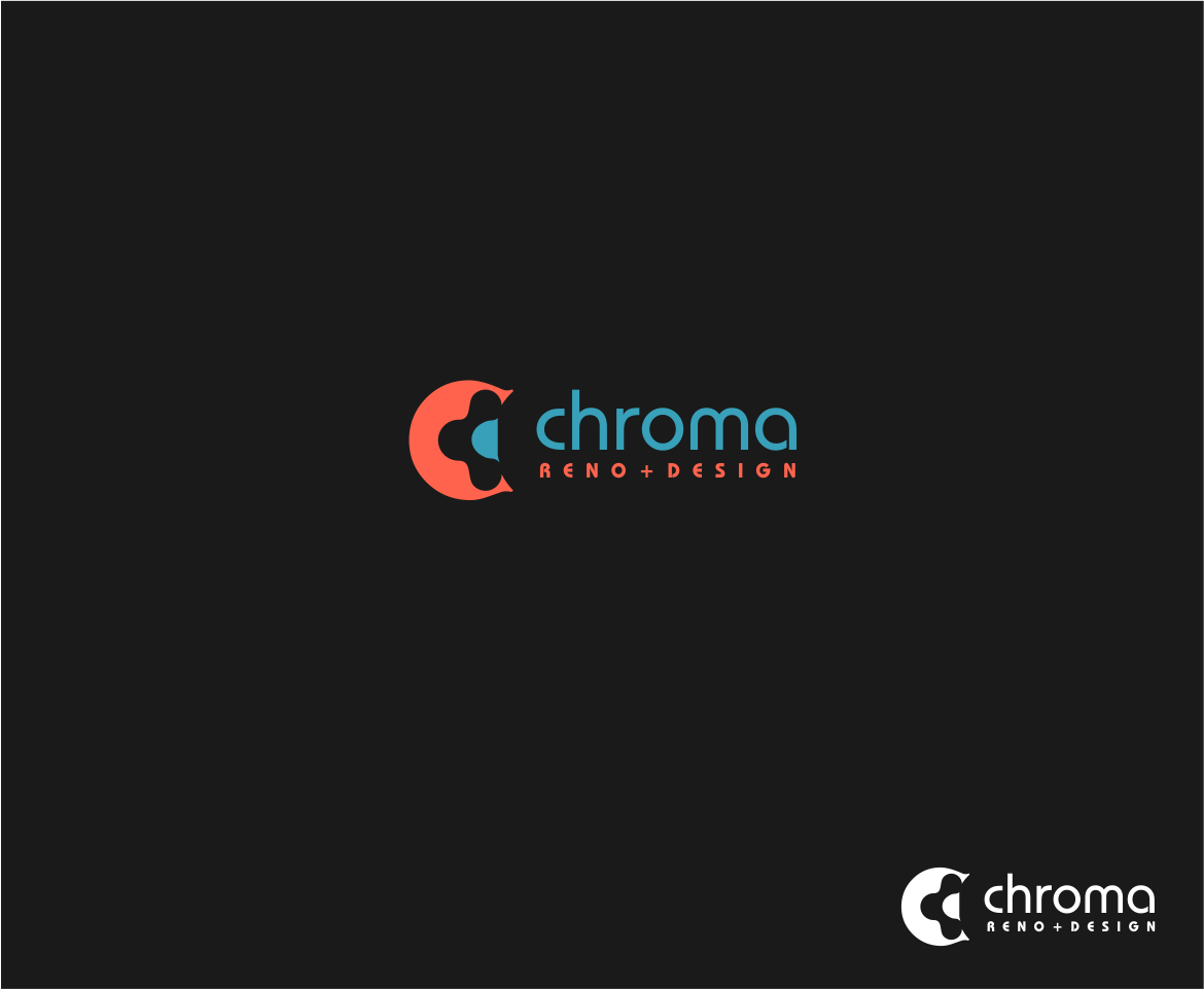 Logo Design by haidu - Entry No. 306 in the Logo Design Contest Inspiring Logo Design for Chroma Reno+Design.
